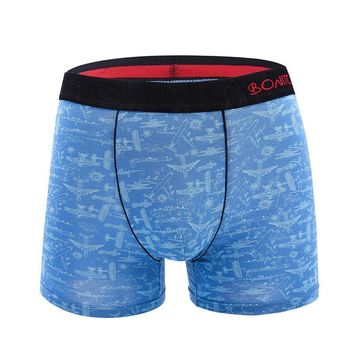 Pattern Boxer Briefs with Black Band