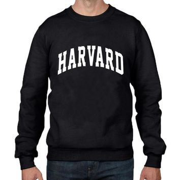 funny sweatshirt harvard students pullover hip hop sweartshirt fashion casual streetwear hipster crewneck hoodies