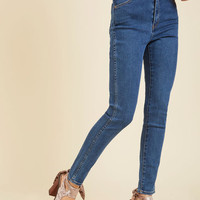 Paramount Proclamation Jeans in Medium Wash | Mod Retro Vintage Pants | ModCloth.com