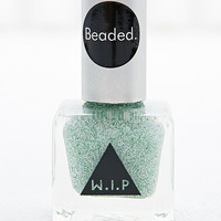 Beaded Nail Polish in Mint - Urban Outfitters