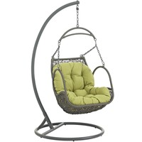 Arbor Outdoor Hanging Patio Wood Swing Chair