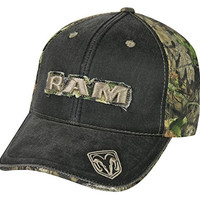 Dodge Ram Mossy Oak Frayed Patch Camo Hat