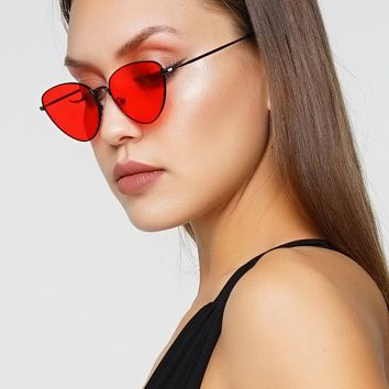 Paparazzi Sunglasses - Red