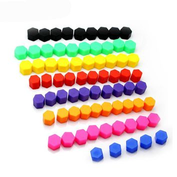 Silicone Bolts Hub Screw Cover Protective Wheel Caps