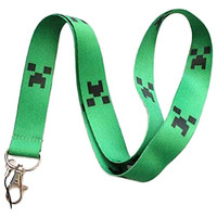 Minecraft Creeper Key Chain Lanyard (1 Pack)