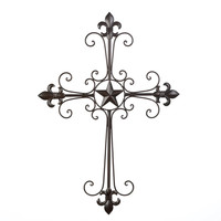 Lone Star Wall Cross Decor Wholesale at Koehler Home Decor