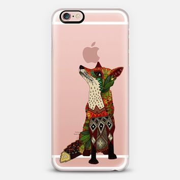 fox love transparent iPhone 6s case by Sharon Turner | Casetify