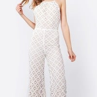 Alabama Crochet Jumpsuit*