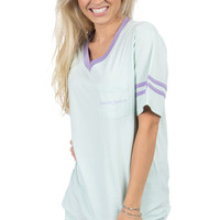 Baseball Logo Jersey - Short Sleeve – Lauren James Co.