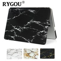 RYGOU for New Macbook Pro 13 Touch Bar 2016 2017 Pro 15 A1707 Plastic Hard Case Shell for Mac Book Pro 13 15 Retina Laptop Cover