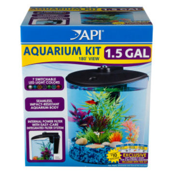 API® 1.5 Gallon 180 View Aquarium Kit | Aquariums | PetSmart