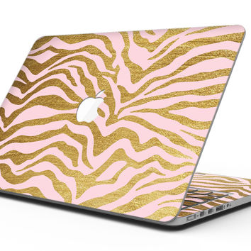 Pink Gold Flaked Animal v4 - MacBook Pro with Retina Display Full-Coverage Skin Kit