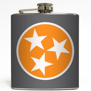 Vol Tristar - Tennessee State Flag Flask