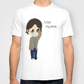 Supernatural Sam Winchester I lost my shoe T-shirt by RoxyJ