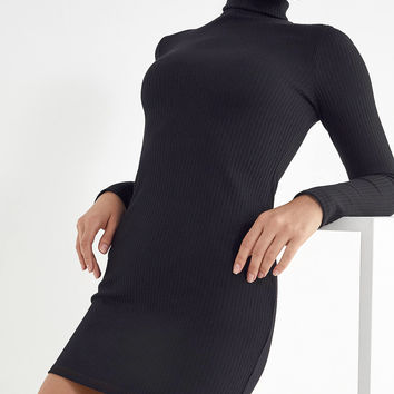 UO Gigi Turtleneck Mini Dress | Urban Outfitters