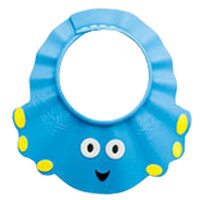 The Creative Cartoon Children's Bath Cap / Shower Hat Can be Adjusted Blue