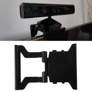 Mini TV Clip Mounting Holder Stand For Xbox 360 X-360 Kinect Sensor Video Games