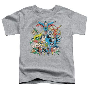 Dc - Justice League Assemble Short Sleeve Toddler Tee