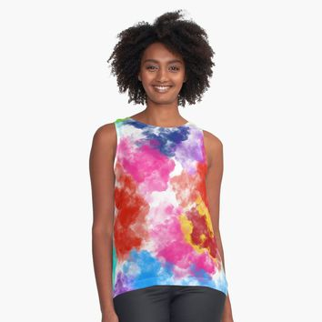 """clouds"" Contrast Tank by BillOwenArt 