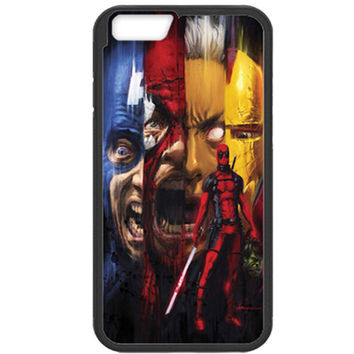 Deadpool Kills the Marvel Universe TPU Bumper Iphone 5c