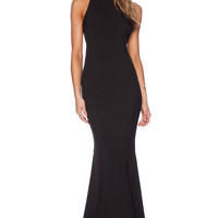 Black Slim Prom Dress 10934