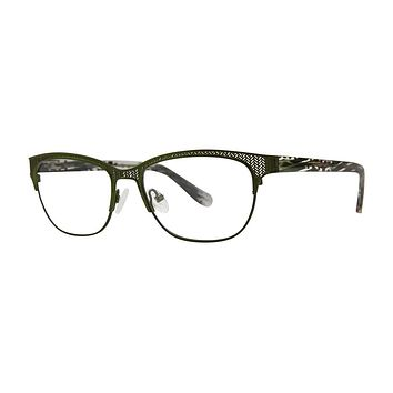 Kensie - Adventure 51mm Olive Eyeglasses / Demo Lenses