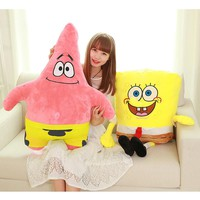 Spongebob plush toy soft anime cosplay doll for kids