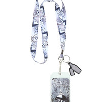 Disney Alice In Wonderland Alice Falling Lanyard
