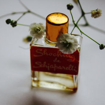 Micro mini collectible perfume-VINTAGE SHOCKING DE Schiaperelli, Schiaparelli  - miniature parfum-Perfume