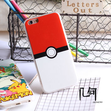 Pokémon iPhone 6/6plus Phone Case Pokemon iphone5S pokemon go case