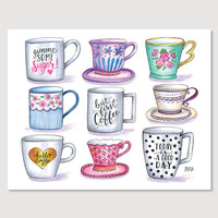 L&V Mug Collection - Print