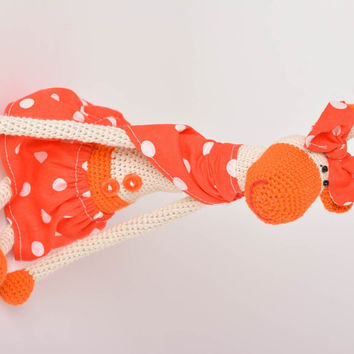 Handmade toy crocheted toy for baby unusual gift ideas animal toy soft toy