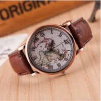 Sell like hot cakes type map of ms Roman numerals watches
