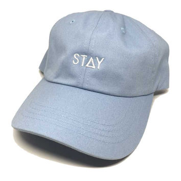 STAY DAD HAT - LIGHT BLUE