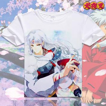 Inuyasha Short Sleeve Anime T-Shirt V20