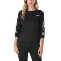 Rose Thorns Long Sleeve T-Shirt | Shop Womens Tees At Vans