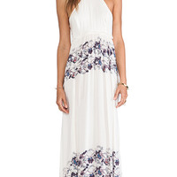 Free People Babydoll Maxi Dress in Cream