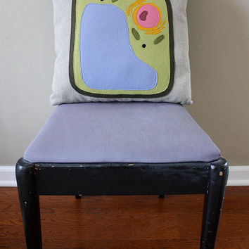 Science Diagram Pillow - Plant Cell