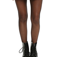 Blackheart Black Small Fishnet Tights