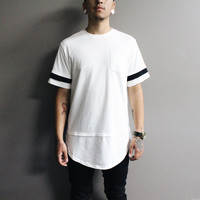 Jach's Pocket Long T-shirt (white)