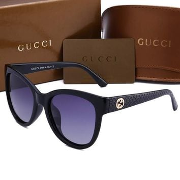 Gucci sunglass AA Classic Aviator Sunglasses, Polarized, 100% UV protection 2974244984 GG3786