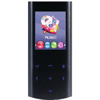"""Sylvania 4gb 1.8"""" Video Mp3 Player With Rechargeable Battery"""