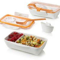 Bento Box Lunchbox System by Black & Blum, color = Orange