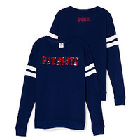 New England Patriots Bling Crewneck Tee - PINK - Victoria's Secret