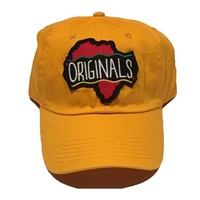 "Originals ""African"" Dad Hat ""Yellow"" O/S"