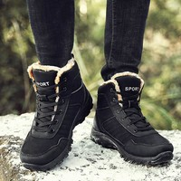 Hot Deal On Sale Winter Thicken Plus Size Outdoors Boots [118135980057]