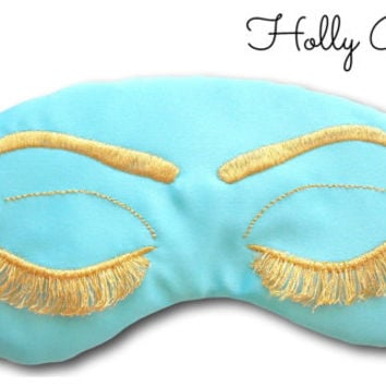 Hollywood Glam Sleep Mask Regency Style Breakfast at Tiffanys Audrey Hepburn