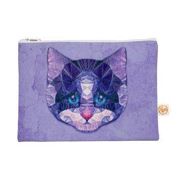 "Ancello ""Cute Kitten"" Purple Cat Everything Bag"