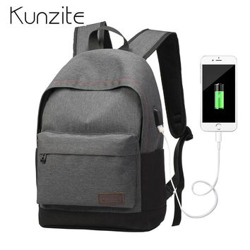 NEW Design USB Charging Backpack Women School/work Bags High Quality Men Laptop Backpack Bag Travel Daypack