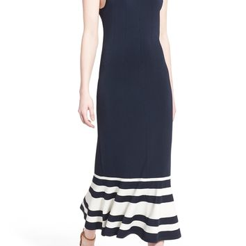 Olivia Palermo + Chelsea28 Stripe Knit Maxi Dress | Nordstrom